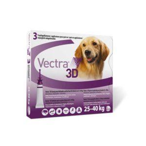 Vectra 3D pentru caini 25 – 40 kg (1 pipetă)