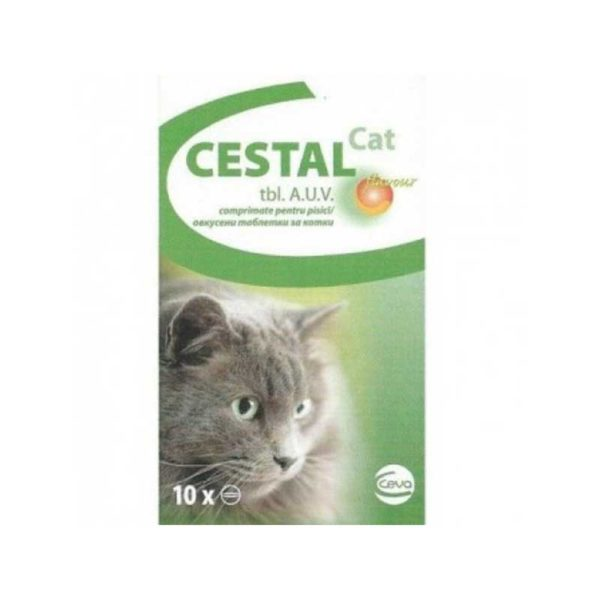 Cestal CAT x 10 tablete