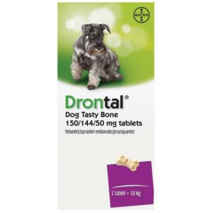 Antiparazitar Drontal  6 tablete