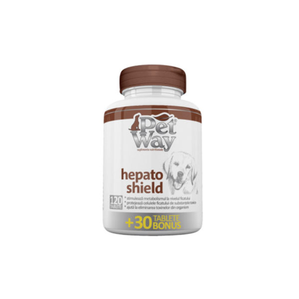 Supliment nutritional PetWay Hepato Shield – 1 tbl