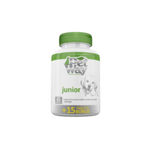 Supliment nutritional PetWay Junior – 1 tbl