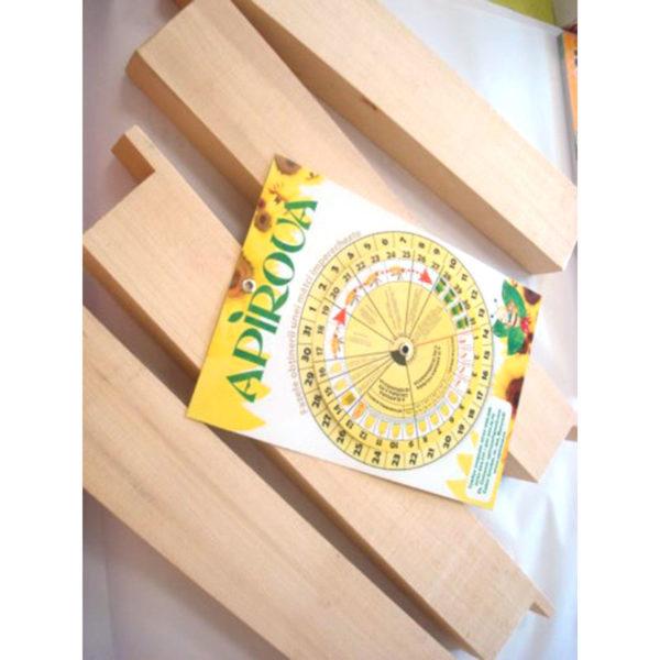 Hranitor uluc lemn – 500 gr