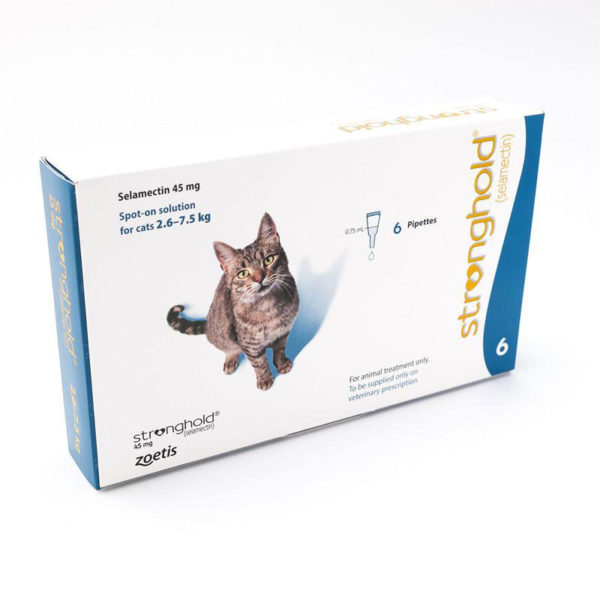 STRONGHOLD 45 mg – pisici 2.6-7.5 kg