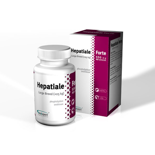 Hepatiale®Forte Tablete > 25 kg